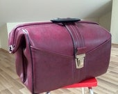 Very lovely vintage doctors bag from USSR, medium size