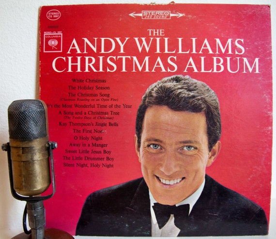 Andy Williams Christmas Music Songs Vintage Vinyl by DropTheNeedle