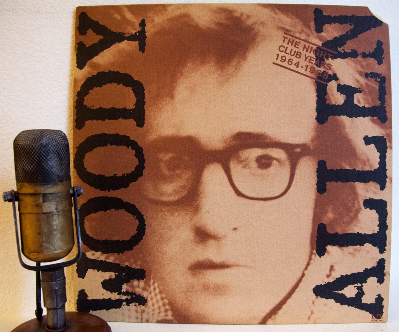 Woody Allen Vinyl Record Album 1960s Comedy Joke Monologues