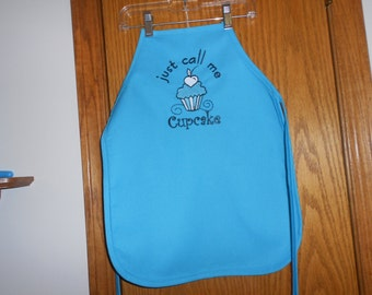 Just call me cupcake child's Apron