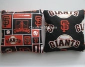 San Francisco Giants Cornhole Bags MLB Corn hole Corn Toss Baggo Set of 8
