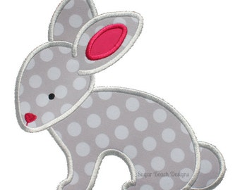 Sweet Bunny - Perfect for Easter or a Baby Item! -  Digital Appliqué Embroidery Design (103)