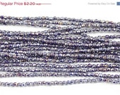 ON SALE Luster Iris Navy Blue 2mm Fire Polished
