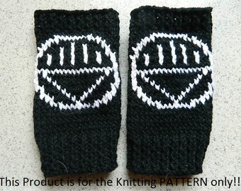 Knitting Pattern: Iron Man Fingerless Gloves