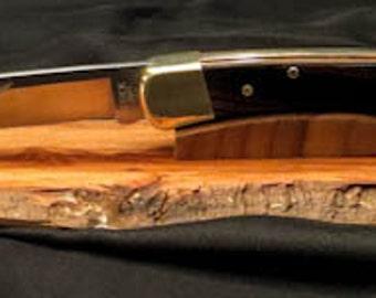 Buck 110 Place Holder - Oak Knife Display