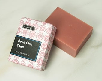 Rose Clay All Vegetable Oil Soap