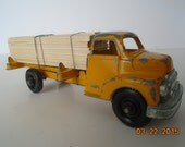 Vintage Toy Lumber Truck by Structo.