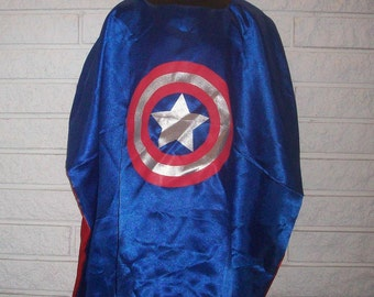 Captain America Inspired Cape