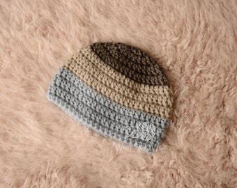 Newborn Photo Prop Boy, Baby Hat For Boys, Newborn Photo Prop