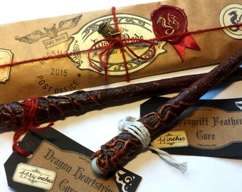 Magic Wand, Harry Potter inspired Wizard Wand With Wrapping