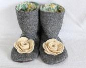BUNDLE - Flower Boots ALL Sizes - PDF Pattern