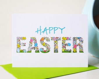 Happy Easter Card - Easter Card