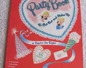Vintage Whitmans Childrens Valentine Cutout Book Circa 1955 - Complete Uncut
