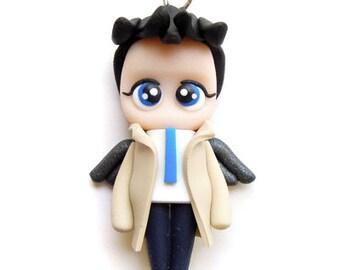 Castiel - Miniature Sculpture - Charm Figurine