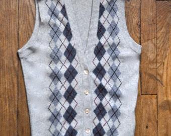 Vintage Jaeger Cashmere Vest