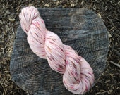 Red Velvet Cake Full Grown Sock 75/25% Superwash Merino Nylon Blend Hand Dyed Sock Yarn 100gr