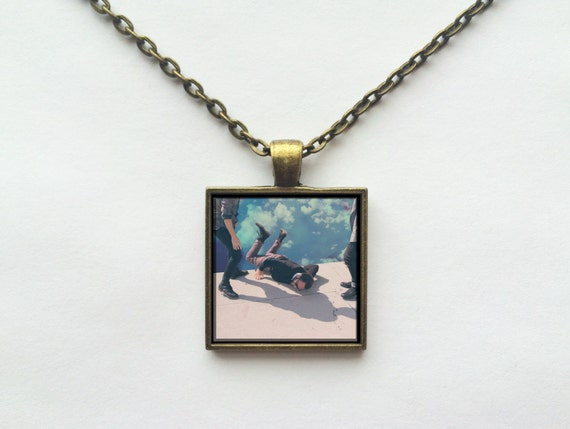 Local Natives - Hummingbird Album Cover Necklace OR Keychain