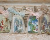 Custom First Communion Favor Sachets / Custom Confirmation Favors / Custom Sachet Favors /