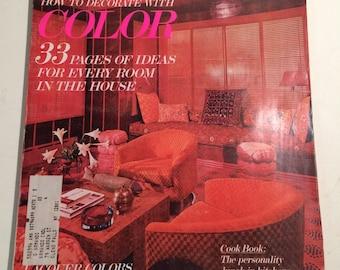 2 Vintage House & Garden Magazines - 1970