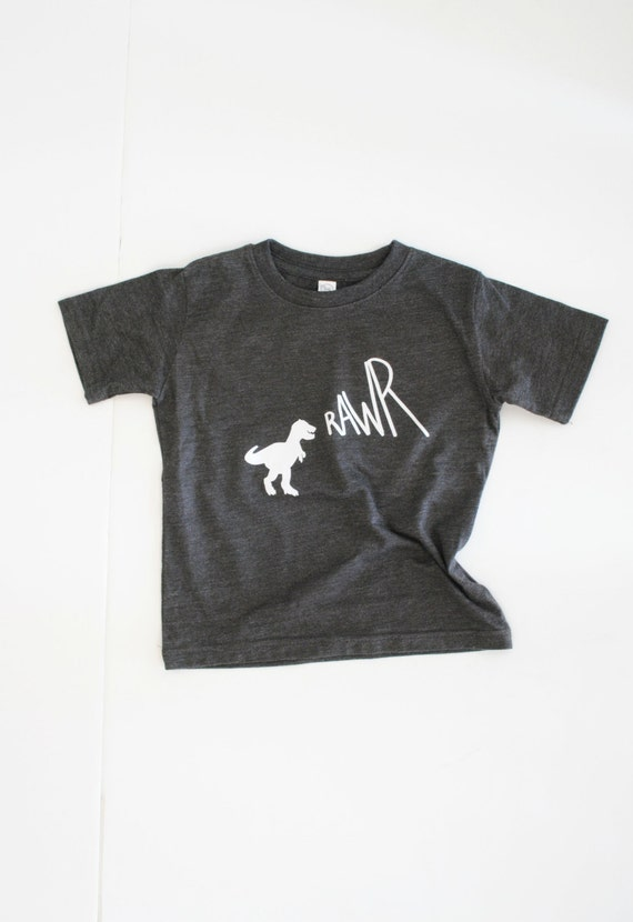 RAWR / vintage graphic tee / baby toddler kid / by ... - photo#5