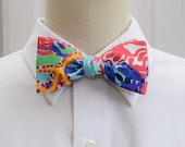 Lilly Bow Tie in multi color Fishing for Compliments (self-tie)