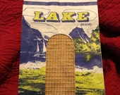 Vintage Paper Potato Sack LAKE POTATOES Unused