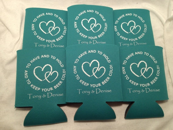 To have and to hold wedding can coolers design 981 lot of 25 to 300
