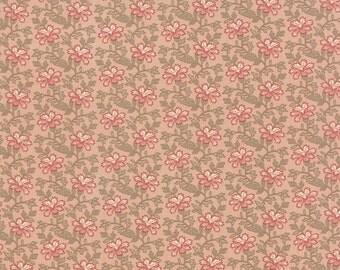 Country Orchard - Trailing Floral in First Blush by Blackbird Designs for Moda Fabrics