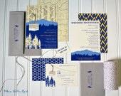Chairlift/Gondola Aspen Mountain Resort Wedding Invitations