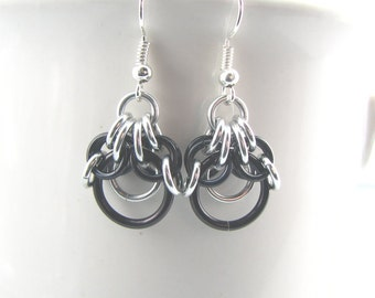 ON SALE Demeter Chainmaille Earrings