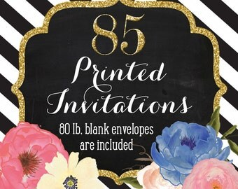 Invitation Printing - Set of 85 - 5x7