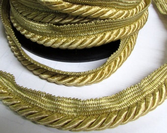 GOLD Cord with lip