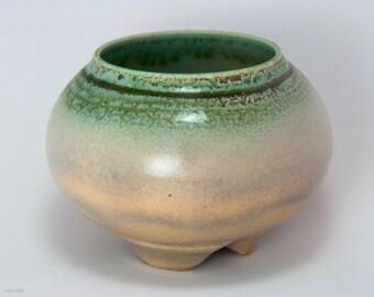 Small multicolored Porcelain Bowl, ceramic, handmade, wheel thrown, OOAK