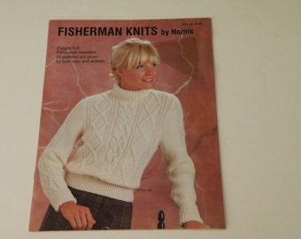 Fisherman Knits by Nomis: Easy to Knit Fisherman Sweaters. All Patterns Are Given for Both Men and Women by Mary Martin