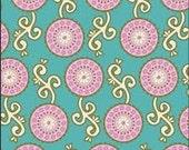 "Rememnant Piece 2 yards x 27"" Girly Girl Bubblegum Fabric"