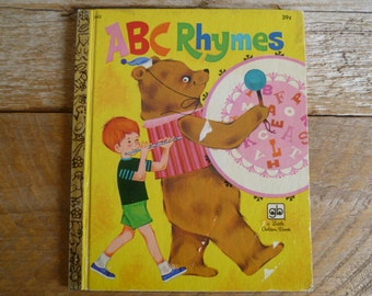ABC Rhymes Little Golden Book 1972