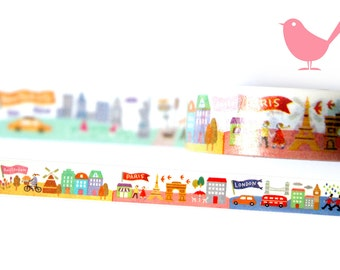 Japanese icons Washi tape for scrapbooking