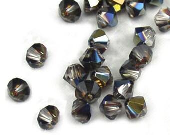 Swarovski Crystal Beads Tabac Bicones 5301 4mm (24)