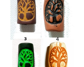 select color: tree of life dread bead