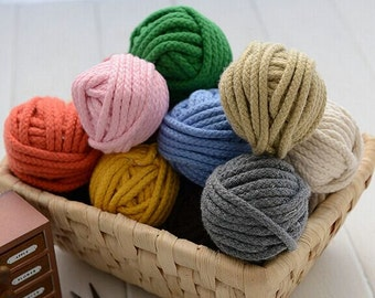 10 Yards Linen Cotton Rope Decorative Rope Cotton Cord 5mm Wide