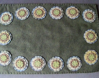 how to make a felted wool rug
