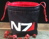 Mass Effect inspired Dice Bag