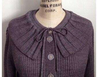 Vintage grey GAYLANA cardigan