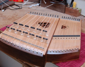 Electric mbira dulcimer - truly one-of-a-kind!