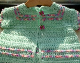 Baby Girls Pretty Little Top,                                                   Short Sleeve Sweater