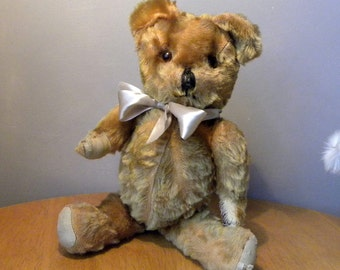 "Vintage Bear 17"" - Lefray Bear - 1950's Toy - Mohair Bear"