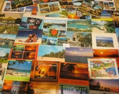 50 Unused Postcards Caribbean, Bahama, Aruba - vintage - great for collecting, weddings, guest book, postcrossing or crafts. Item No: P61