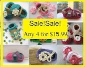 Crochet patterns, Crochet Patterns Baby (pdf pattern)  , 4  for 15.99, Last Day of Sale