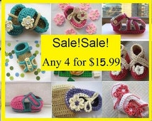 Crochet patterns, Crochet Patterns Baby (pdf pattern)  , 4  for 15.99, Last Day of Sale