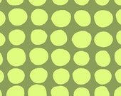 1 HALF YARD Sun Spots in olive by Amy Butler
